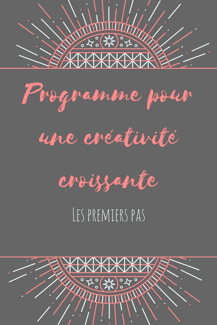 programme pour une créativité croissante